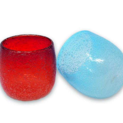 泡たる型グラス2色セット