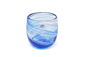 泡南風たる型グラス(青)